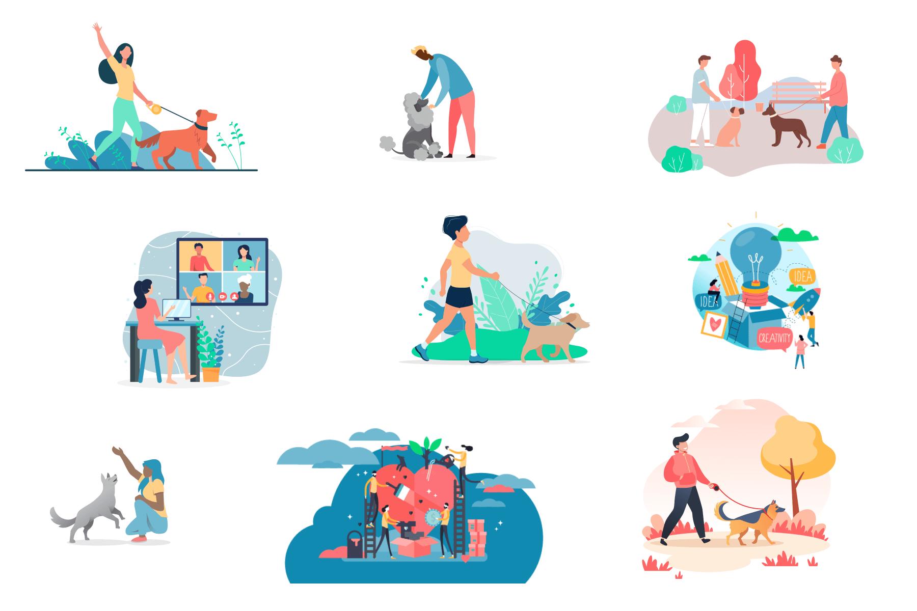 image of illustrations