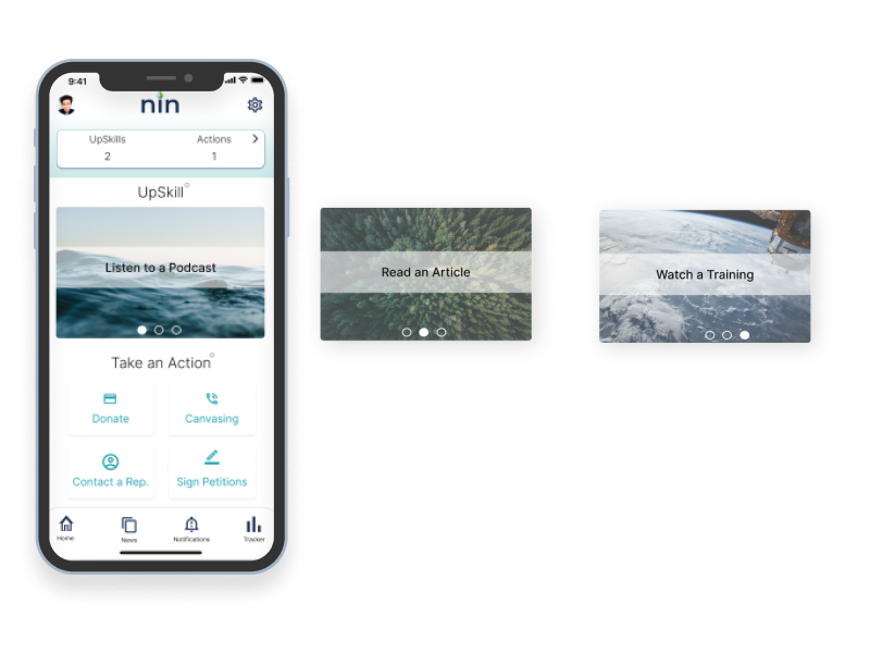 image of mobile app